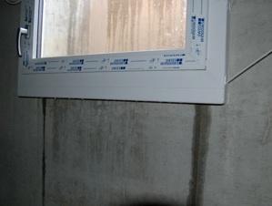 infiltration d'eau par la fenêtre