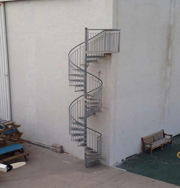 installer une escalier extérieure