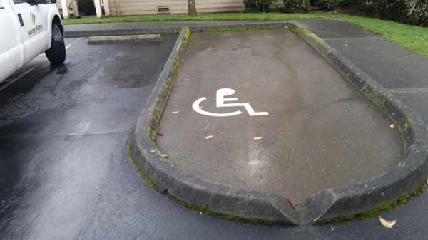refaire un stationnement