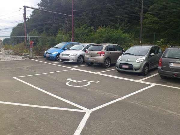 Aménagement d'un stationnement