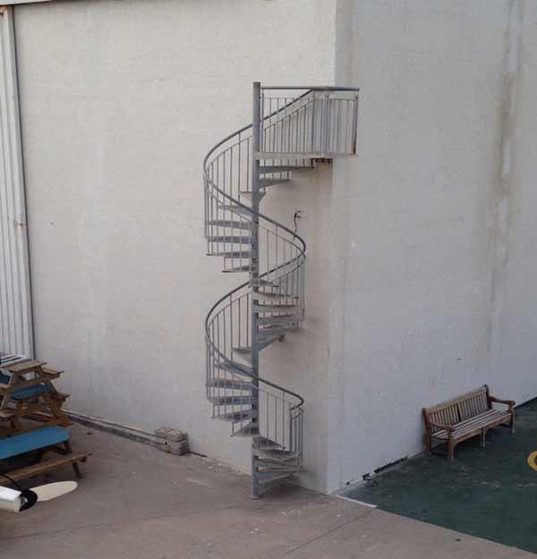 installer une escalier extérieure